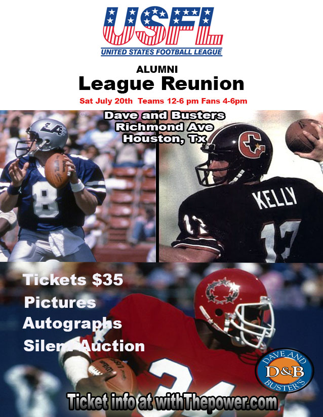 All USFL Alumni League Reunion 1